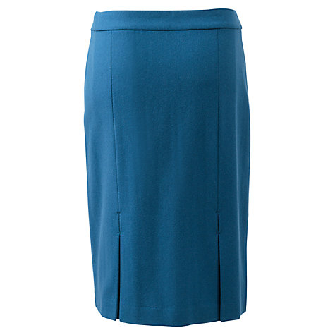 Buy East Pencil Skirt, Marine Online at johnlewis.com