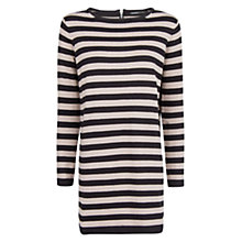 Buy Mango Striped Knitted Dress Online at johnlewis.com