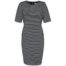 Buy Fenn Wright Manson Rebecca Dress, Navy/White Online at johnlewis.com
