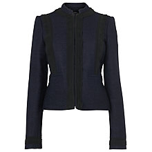 Buy L.K. Bennett Tweed Jacket, Blue Navy Online at johnlewis.com