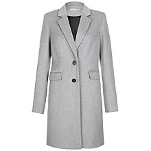 Buy Fenn Wright Manson Florelle Coat, Soft Grey Online at johnlewis.com