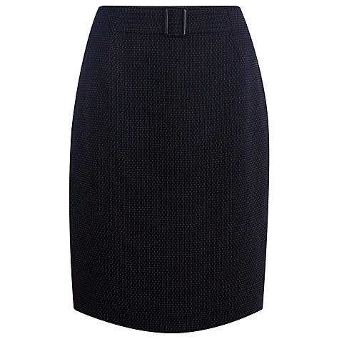Buy Precis Petite Pindot Skirt, Multi Online at johnlewis.com