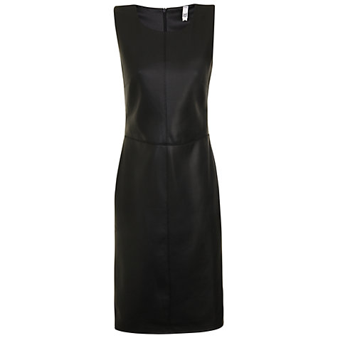 Buy True Decadence PU Pencil dress, Black Online at johnlewis.com