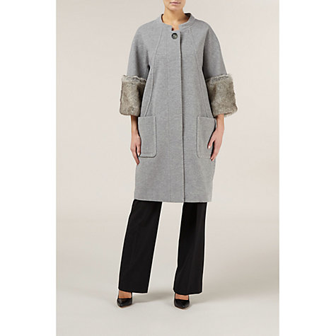 Buy Kaliko Faux Fur Cocoon Coat Online at johnlewis.com
