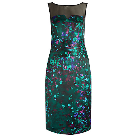 Buy Alexon Watercolour Print Dress Online at johnlewis.com