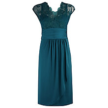 Buy Alexon Lace Top Jersey Dress Online at johnlewis.com