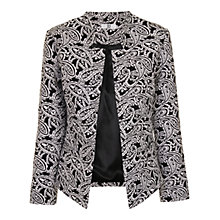Buy True Decadence Inverted Collar Blazer, Black Online at johnlewis.com