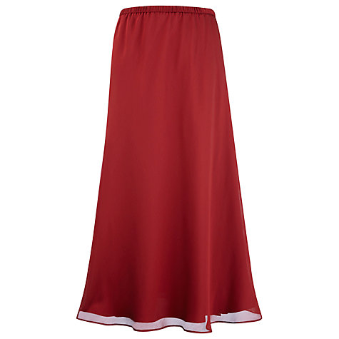 Buy Jacques Vert Garnet Occasion Skirt, Red Online at johnlewis.com