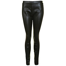 Buy True Decadence PU Leggings, Black Online at johnlewis.com