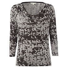 Buy White Stuff Commuter T-Shirt, Gunmetal Online at johnlewis.com