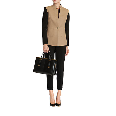 Buy Ted Baker Covee Jersey Blazer, Camel Online at johnlewis.com