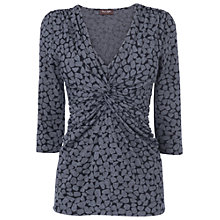 Buy Phase Eight Sara Pebble Top, Black/Grey Online at johnlewis.com