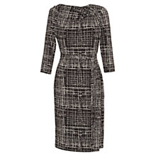 Buy allegra by Allegra Hicks Penelope Dress, Gridwork Grey Online at johnlewis.com