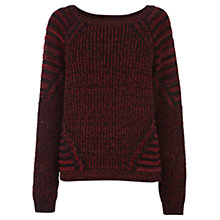 Buy Warehouse Rib Block Jumper Online at johnlewis.com