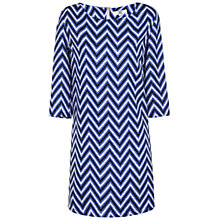 Buy True Decadence Shift Dress, Blue Print Online at johnlewis.com