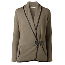 Buy Gérard Darel Cardigan with Belt, Khaki Online at johnlewis.com