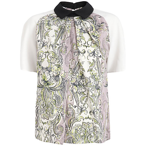Buy Almari Contrast Top, Multi Online at johnlewis.com