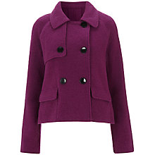 Buy Havren Double-Breasted Jacket, Mauve Online at johnlewis.com