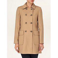 Buy Phase Eight Nieve Patch Pocket Coat, Camel Online at johnlewis.com