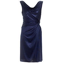 Buy Adrianna Papell Cowl Front Jersey Dress, Ink Online at johnlewis.com