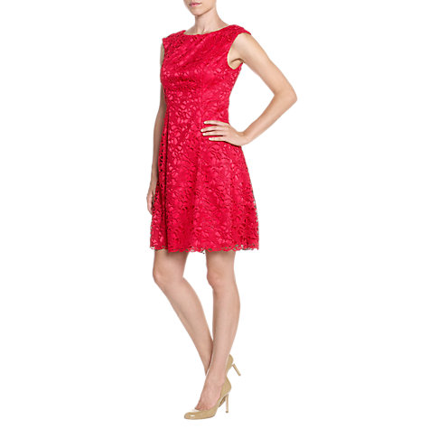 Buy Adrianna Papell Lace Fit & Flare Dress Online at johnlewis.com