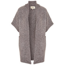 Buy Havren Basic Cardigan, Mink/Grey Online at johnlewis.com