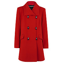 Buy Jacques Vert Car Coat, Red Online at johnlewis.com