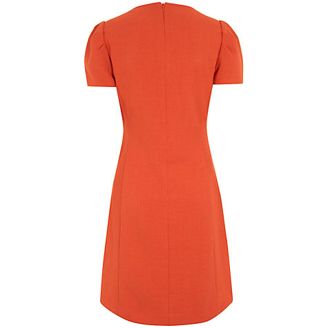 Buy Havren Shift Dress, Orange Online at johnlewis.com