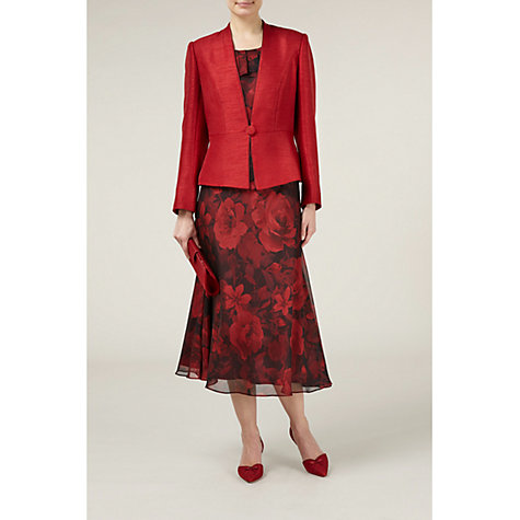 Buy Jacques Vert Occasion Jacket, Red Online at johnlewis.com