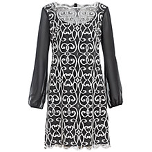 Buy Adrianna Papell Scallop Lace Dress Online at johnlewis.com