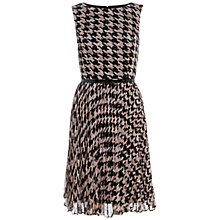 Buy Adrianna Papell Houndstooth Dress Online at johnlewis.com