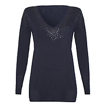 Buy Damsel in a dress Myrrh Top, Black Online at johnlewis.com