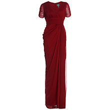 Buy Adrianna Papell Draped Gown Online at johnlewis.com