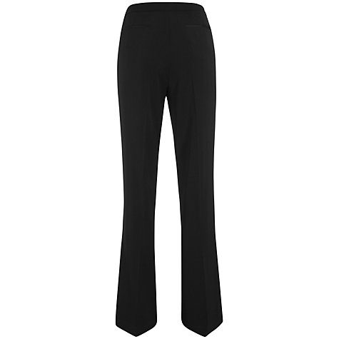 Buy Havren Bootcut Trousers, Black Online at johnlewis.com