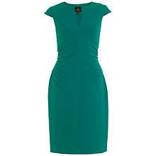 Buy Adrianna Papell Sheath Dress, Emerald Online at johnlewis.com