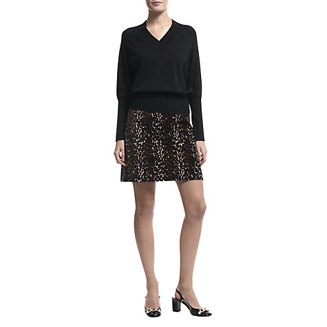 Buy Havren Batwing Jumper, Black Online at johnlewis.com