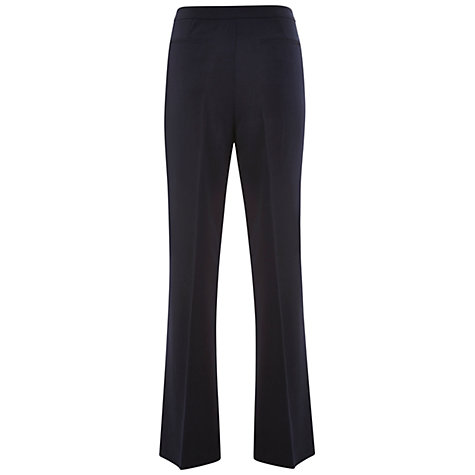Buy Havren Bootcut Trouser, Navy Online at johnlewis.com