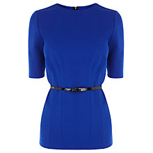 Buy Coast Hetty Top, Cobalt Blue Online at johnlewis.com