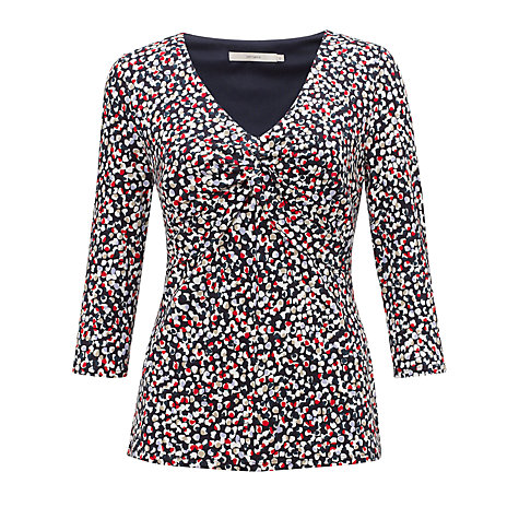 Buy John Lewis Capsule Collection Twist Front Top, Multi Online at johnlewis.com