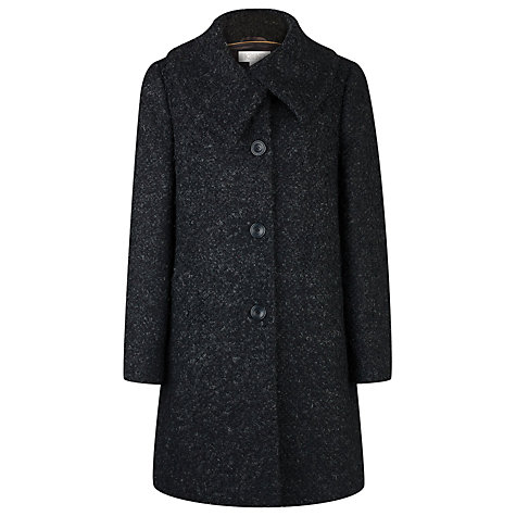 Buy Kaliko Boucle Swing Coat, Grey Online at johnlewis.com