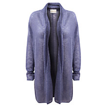 Buy East Mohair Cardi, Dark Lilac Online at johnlewis.com