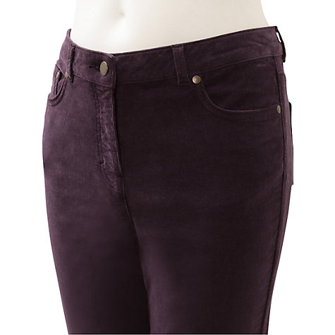Buy East Uncut Corduroy Trousers Online at johnlewis.com