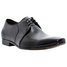 Buy Dune Acid Gibson Leather Derby Shoes, Black Online at johnlewis.com