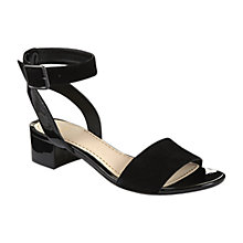Buy Clarks Sharna Balcony Sandals, Black Online at johnlewis.com