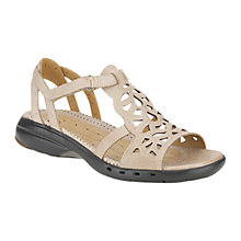 Buy Clarks Un Sugar Sandals, Tan Online at johnlewis.com