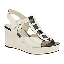 Buy Clarks: Orla Kiely Mary Sandals, Cream Online at johnlewis.com
