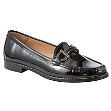 Buy John Lewis Essen Moccasin Loafers, Black Online at johnlewis.com