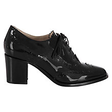 Buy Hobbs Agnes Brogue Shoes, Black Online at johnlewis.com