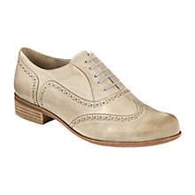 Buy Clarks Hamble Brogue Shoes, Oak Stone Online at johnlewis.com