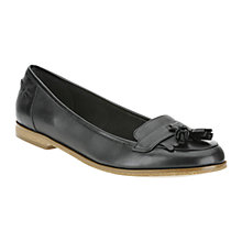 Buy Clarks Angelica Slice Loafers, Black Online at johnlewis.com